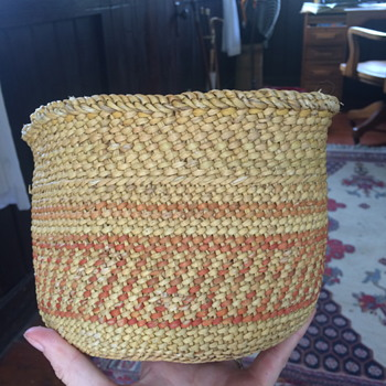 Granny's Northwest Indian Basket