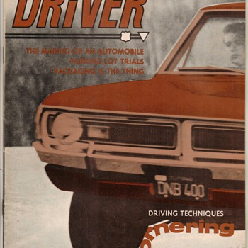 USAF Driver Magazine - March 1970 Issue - Paper