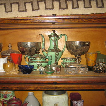 MISC. GLASS & POTTERY
