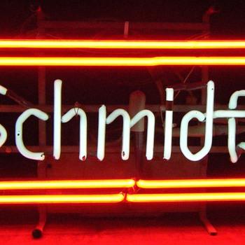 Schmidt's Beer Neon signs
