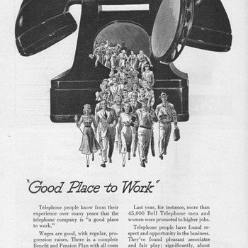 1952 - Bell Telephone Advertisements - Advertising