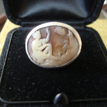 Antique? Silver Cameo Ring