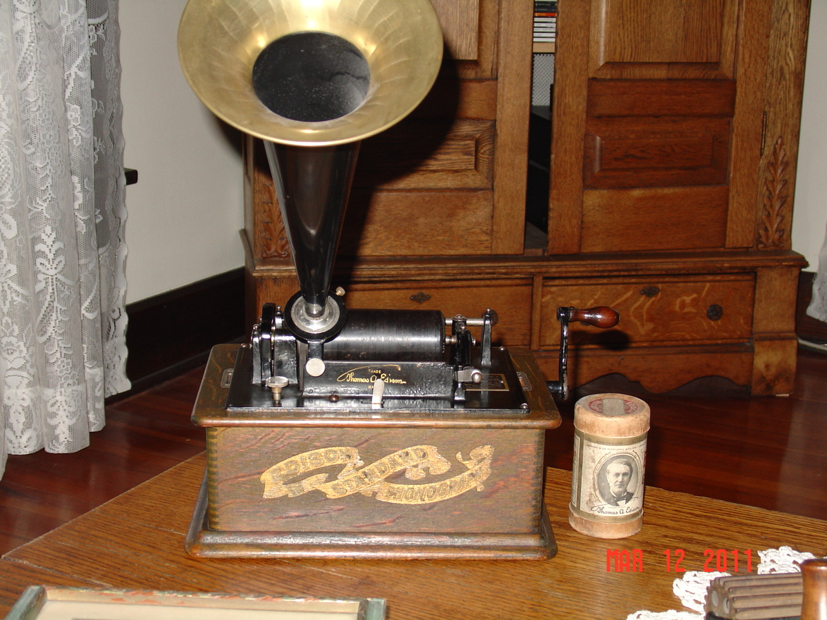 A True Antique Edison Standard Phonograph 1800 39 S By