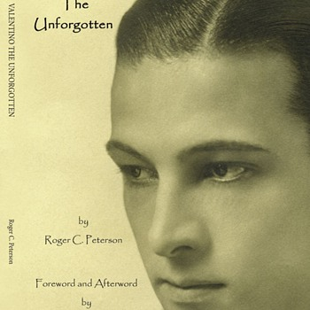 VALENTINO,UNFORGOTTEN. BOOK I AM BUYING, PAPERBACK.  NICE COVER PHOTO. - Books