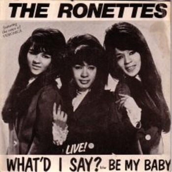 The Ronettes rare live recording