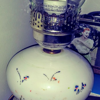 I cherish this lamp that my late Grandma Mabel gave me