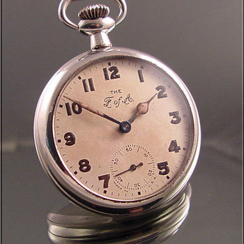 Ingersoll Foresters of America Dollar Pocket Watch