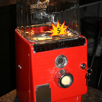 northwestern gumball machine - Coin Operated