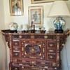 antique vietnamese family altar