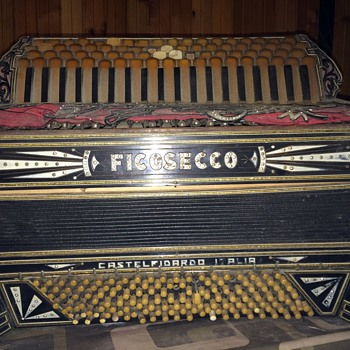 Castelfidardo Ficosecco accordion - Musical Instruments