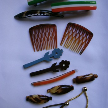 Vintage Hair Barrettes.