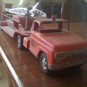 Antique Tonka Ladder Fire Truck - Firefighting
