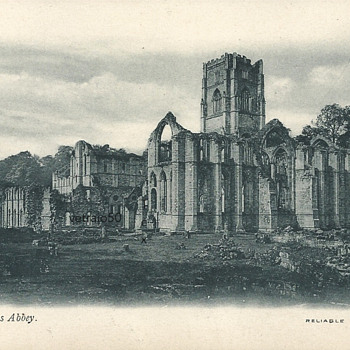 FOUNTAINS ABBEY - RELIABLE SERIES - WR&S - Postcards