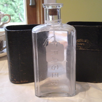 Fraser &amp; Co., 583 Fifth Avenue, New York, NY Bottle and Case