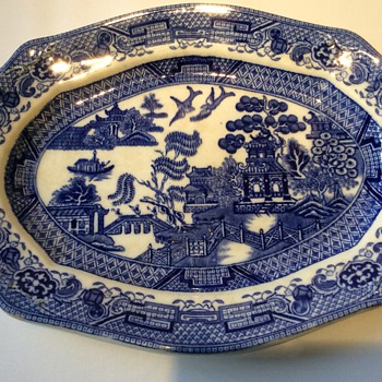 Antique platter - China and Dinnerware