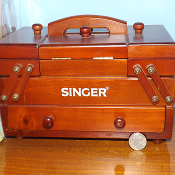 SEWING BOXES....