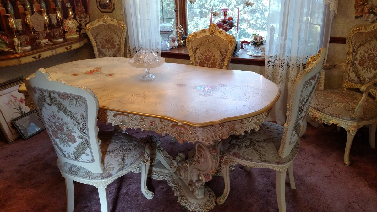 italian dining room set provincial collectors weekly