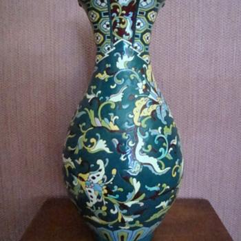 Please help identify maker of vase - Signed on base - Possibly Longwy? - Pottery