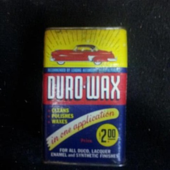 duro wax can - Petroliana