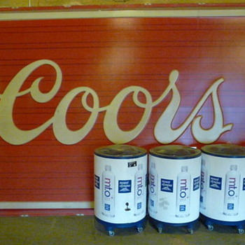 "HUGE Coors sign 12' 8"" Wide x 7' 8"" Tall"