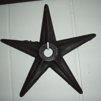 cast iron building stars