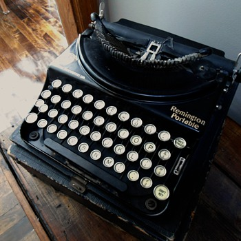 Remington Portable Typewriter - Office