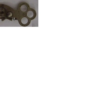 hinged key Marked STAMFORD YALE & TOWNE CONN, U.S.A. YALE MFG. C - Tools and Hardware
