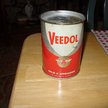 veedol flying a oil and grease - Advertising