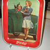 1942 Roadster Girl Coca-Cola Tray