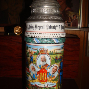 Imperial German Reservist&#039;s Stein of Tambour Jehl - Breweriana