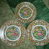 Chinese Desert Plates decorated in the Thousand Butterfly motif