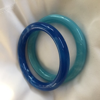 Possibly Murano Glass bangles?