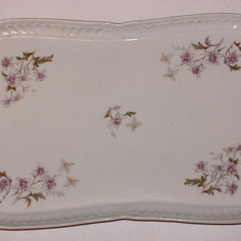 Austrian Hand Painted Small Platter (LS&amp;S Carlsbad?)