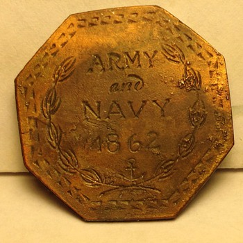 2 1/2 cent civil war token