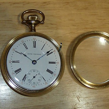 114 year old Seth Thomas Pocket Watch - Pocket Watches