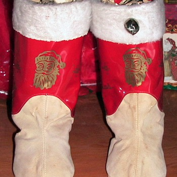 Childs Santa Boots