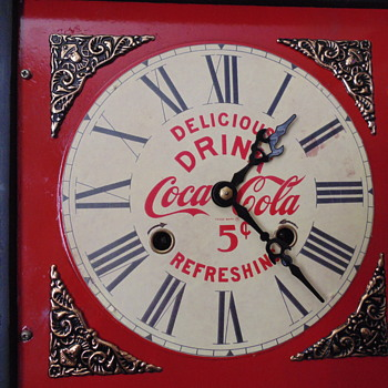 Coca~Cola Shelf Clock