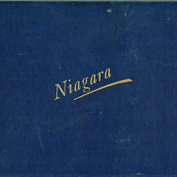 1895 Niagara Falls Photo Book - Books
