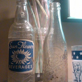 SunFlower Beverage bottle