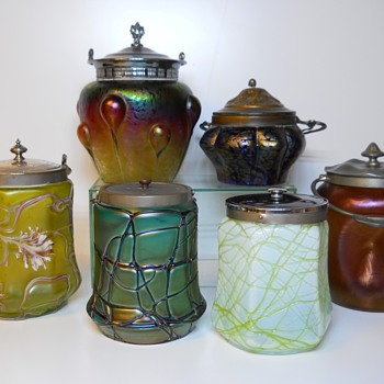 Bohemian Austria Cookie Jar Reunion, Circa 1890-1900
