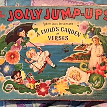 A Child's Garden with Verses, The Jolly Jump-Ups - Books