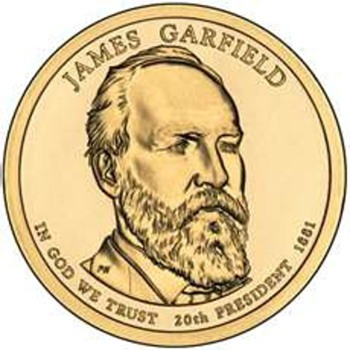 James A. Garfield Copper Coin