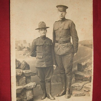 RPPC of British Giant from WW1 - Photographs