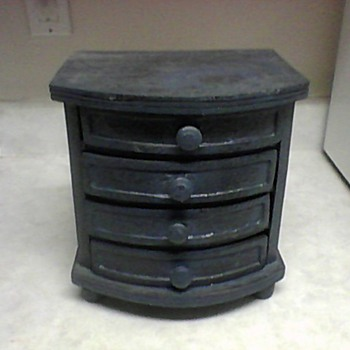 BLUE MINI CHEST - Furniture