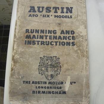 Automobile handbook - Classic Cars