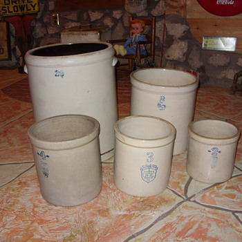 20 gallon crocks and others - China and Dinnerware