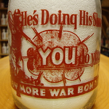 Campbell's Milk Quart war Slogan Clovis, New Mexico......
