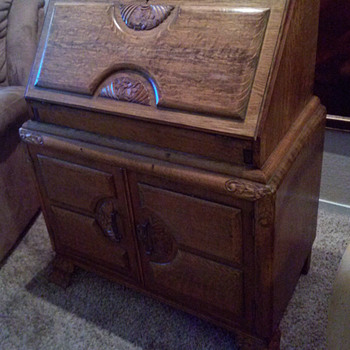 Early 1900s Secretary Desk