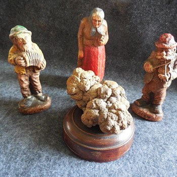 Coprolite Specimen and Viewing Figurines - Animals