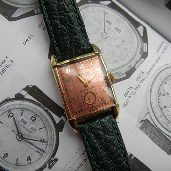 1947 Gruen Veri-Thin - Wristwatches